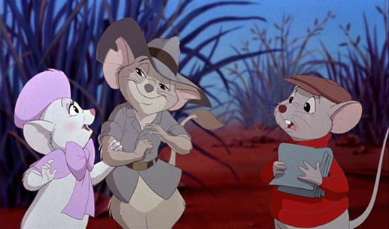 The Rescuers Cartoon Image