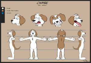 Chase the dog