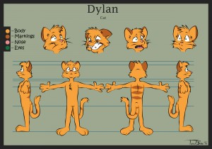 Dylan the cat