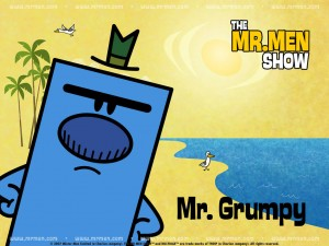 Mr. Grump from The Mr. Men Show