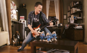 The Smurfs Rocking out with Neil