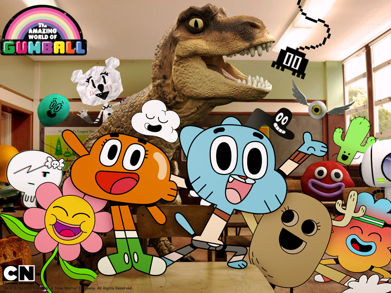 the amazing world of gumball and the deconstruction of
